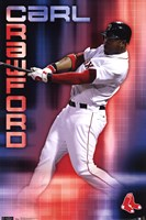 Red Sox - C Crawford 11 Wall Poster