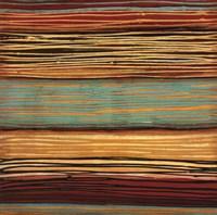 Seaside Stripes II Fine-Art Print