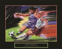 Effort - Soccer Fine-Art Print