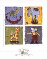 Toys in an Attic Fine-Art Print