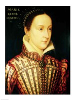 Miniature of Mary Queen of Scots, c.1560 Fine-Art Print