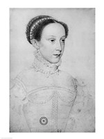 Mary Queen of Scots, 1559 Fine-Art Print