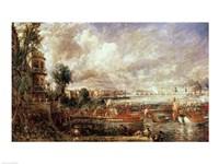 The Opening of Waterloo Bridge Fine-Art Print
