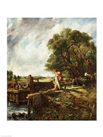 The Lock, 1824 Fine-Art Print
