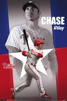 Phillies - C Utley 11 Wall Poster