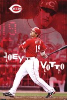 Reds - J Votto 11 Wall Poster