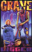 Black Light - GRAVE DIGGER Wall Poster