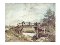 A Bridge Over the Stour Fine-Art Print