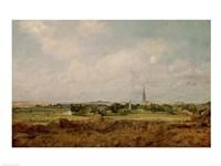 View of Salisbury Fine-Art Print