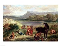 Ovid among the Scythians, 1859 Fine-Art Print
