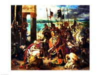 The Crusaders' entry into Constantinople Fine-Art Print