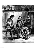 Mephistopheles and the Pupil, from Goethe's Faust Fine-Art Print