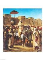 Muley Abd-ar-Rhaman  The Sultan of Morocco Fine-Art Print