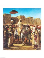 Muley Abd-ar-Rhaman  The Sultan of Morocco Fine-Art Print