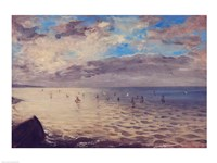 Sea Viewed from the Heights of Dieppe Fine-Art Print