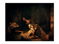 The Prisoner of Chillon, 1834 Fine-Art Print