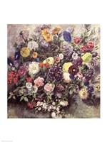 Bouquet of Flowers Fine-Art Print