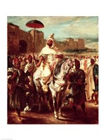 Abd Ar-Rahman Sultan of Morocco Fine-Art Print