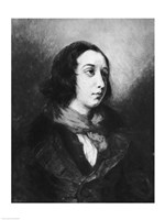 Portrait of George Sand, 1838 Fine-Art Print