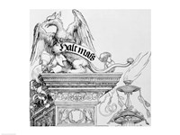 The Triumphal Arch of Emperor Maximilian I of Germany: detail Fine-Art Print