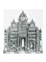 The Triumphal Arch of Emperor Maximilian I of Germany Fine-Art Print