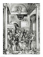 The Virgin and Child with Saints Fine-Art Print