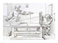 Instrument of Mathematical Precision for Designing Objects in Perspective Fine-Art Print