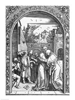 The meeting of St. Anne and St. Joachim at the Golden Gate Fine-Art Print