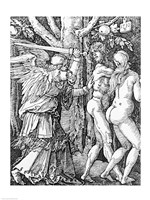 The Expulsion from Paradise, 1510 Fine-Art Print