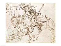 Death Riding, 1505 Fine-Art Print
