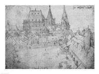 The Minster at Aachen, 1520 Fine-Art Print