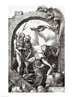 Harrowing of Hell or Christ's descent into Limbo, 1512 Fine-Art Print