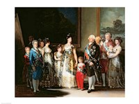 Charles IV and his family, 1800 Fine-Art Print