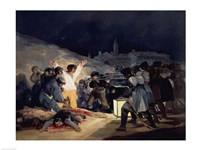 Execution of the Defenders of Madrid Fine-Art Print