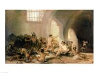 The Madhouse, 1812-15 Fine-Art Print