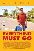 Everything Must Go Wall Poster