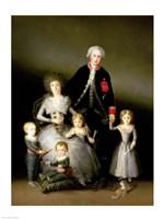 The Duke of Osuna and his Family, 1788 Fine-Art Print