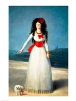 The Duchess of Alba, 1795 Fine-Art Print