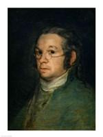 Self portrait with spectacles, c.1800 Fine-Art Print