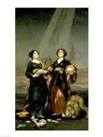 St. Justina and St. Rufina, 1817 Fine-Art Print