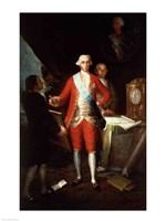 Portrait of Don Jose Monino y Redondo I Fine-Art Print