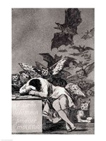 The Sleep of Reason Produces Monsters Fine-Art Print