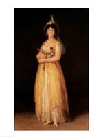 Portrait of Queen Maria Luisa Fine-Art Print