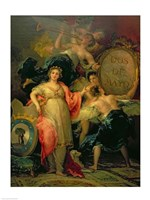 Allegory of the City of Madrid, 1810 Fine-Art Print