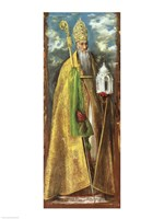 Saint Augustine of Hippo Fine-Art Print