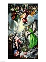 The Annunciation 1596-1600 Fine-Art Print