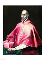 Portrait of Cardinal Juan de Tavera Fine-Art Print