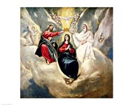 The Coronation of the Virgin Fine-Art Print