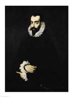 Portrait of Juan Alfonso de Pimentel y Herrera Fine-Art Print