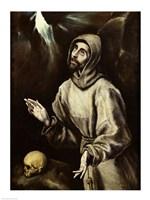 St. Francis of Assisi Receiving the Stigmata Fine-Art Print